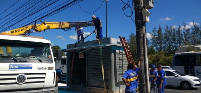 Câmara Comunitária da Barra da Tijuca em ação