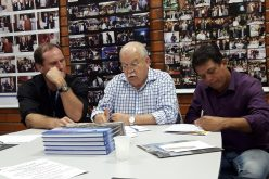 Novos Administradores da Barra se apresentam para a Diretoria da CCBT na Reunião de 03.10.2017
