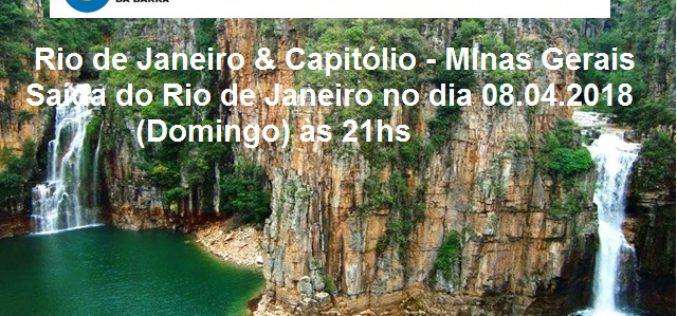 Próxima viagem da CCBT – Capitólio – Minas Gerais