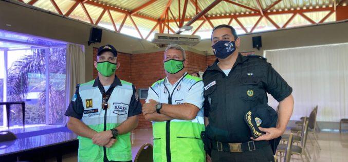 Projeto Bairro Seguro é   anunciado em reunião na   Câmara Comunitária da   Barra